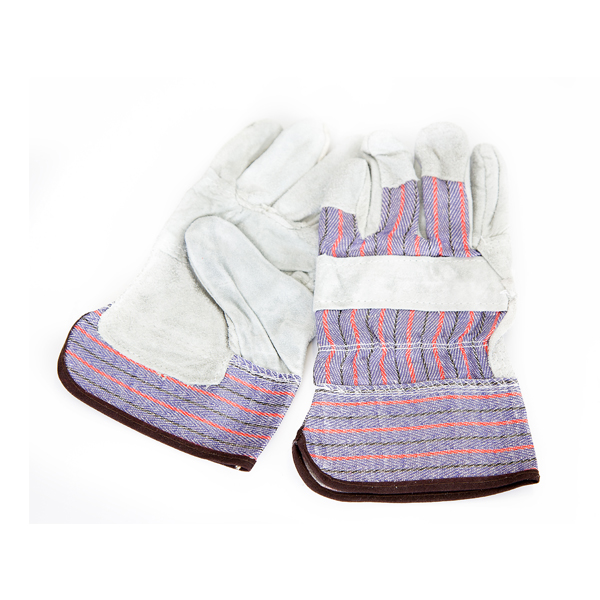 Candy Striped Leather Gloves