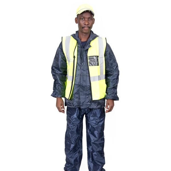 Lime High Visibility Sleeveless Vest