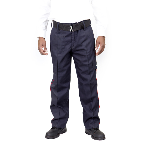 Pin Striped Combat Trouser Front View
