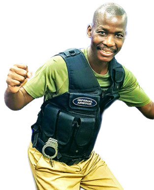 lightweight body armour vest
