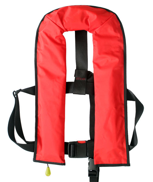 Raider inflatable life jacket
