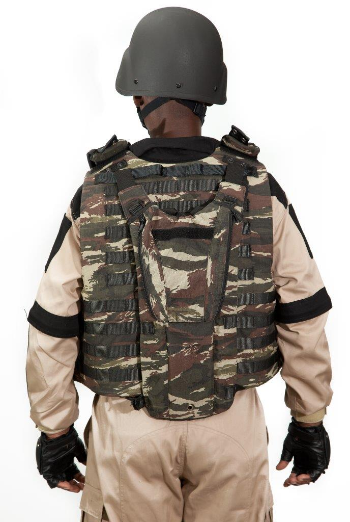 Military Botswana Vest 1