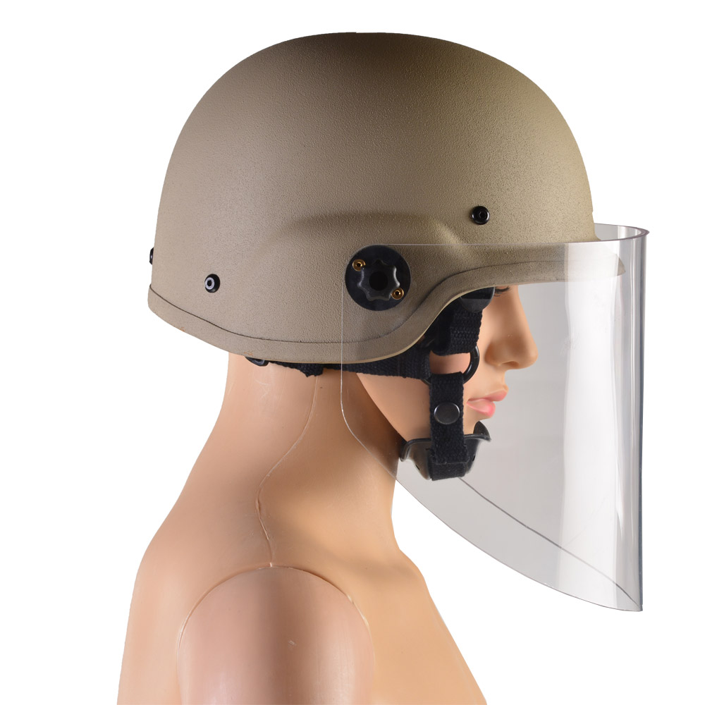 Demining Helmet with Fragmentation Visor - Imperial Armour